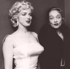 1955 Marilyn and Marlene