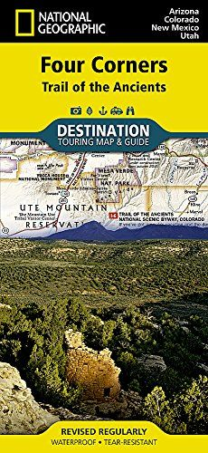 Pdf Four Corners Trail Of The Ancients National Geographic Destination Map Ebook Download Free Epub National Geographic Maps Four Corners National Geographic