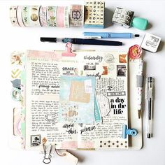 Happy Thursday, Friends! @marrylcrafts we love all the creative journaling you…