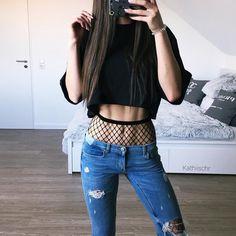 21.3 тыс. отметок «Нравится», 175 комментариев — @kathiischr в Instagram: «OOTD 🦋 love this look ! linked my whole outfit here http://liketk.it/2qFA2 🖤…»