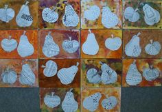 Autumn Crafts, Autumn Art, Art For Kids, Crafts For Kids, Arts And Crafts, Fall Art Projects, Tape Painting, Leaf Crafts, Art Lessons Elementary