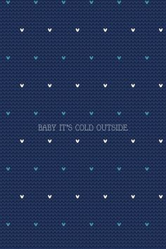 Baby it's cold outside ❄️  #madewithover  Download and edit your own iPhone wallpapers in Over today.