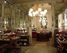 Imperial splendor in the Cafe Demel,  Vienna, Austria