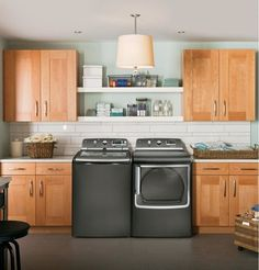 Shelves Above Washer And Dryer Design Ideas Pictures Remodel Decor