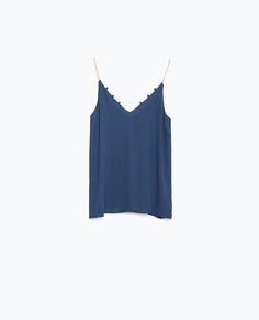 Image 8 of CAMISOLE TOP from Zara