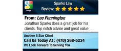 Jonathan Sparks does a great job for his clients.  Top notch advise and great value.