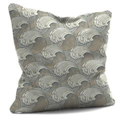 Light Rolling Waves Cushion