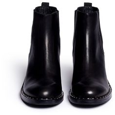 6deabeb5806ac Ash  Xox  stud welt leather Chelsea boots (17.055 RUB) ❤ liked on