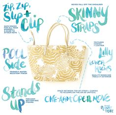 Finally... the PERFECT bag... Lilly Pulitzer Resort Tote