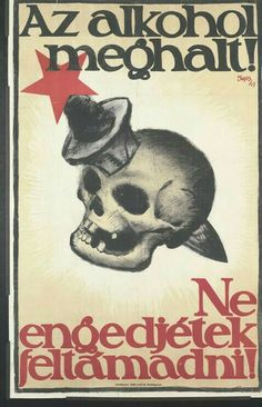 Vintage Polish and Hungarian Anti-Alcohol posters Vintage Ads, Vintage Posters, Retro Posters, Old Ads, Illustrations And Posters, Budapest, Poster Prints, Advertising, History