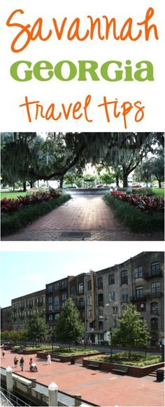 Savannah, Georgia Travel Tips! ~ from TheFrugalGirls.com ~ the best insider tips and tricks for places to go, restaurants to try, and fun things to do in Savannah!