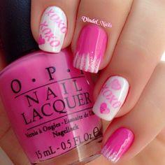 valentine by vindel_nails #nail #nails #nailart