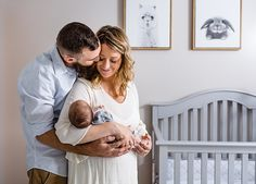 Those first days home are some of the most precious moments! Capture them with a newborn lifestyle session!