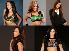 The evolution of Aj Lee #WWE