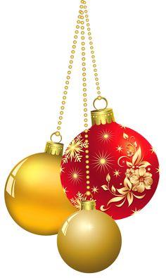 Transparent Christmas Ornaments PNG Clipart