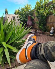 Orange Basketball Shoes Outfit,Jordan Sneakers,Fashion Air Jordan 1 Shoes Air Jordan Sneakers, Jordans Sneakers, Air Jordans, Michael Jordan, Jordan 1, Orange Basketball Shoes, Shattered Backboard, Sneakers Fashion, Nike Air