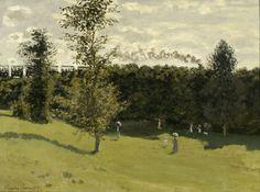 Train dans la campagne, 1870, Claude Monet