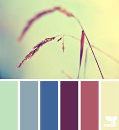 Волшебные цветовые палитры   Sweet home