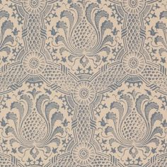 Coronet in Blue on Stone - <p>Blue on Stone </p><p>Composition: 100 % Linen</p><p>Design Width: 127.25cm</p><p>Repeat: 31.5cm </p><p>Also available in Cinnamon on Stone and Pink on Stone </p>