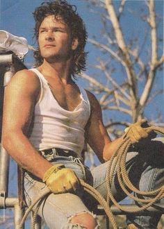 I had this on my wall as a kid. Dirty Dancing, Patrick Swazey, Patrick Wayne, Houston, Idole, Attractive Men, Brad Pitt, Hollywood Stars, American Actors