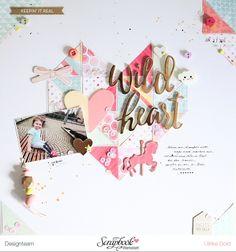 Layout *Wild Heart* - Pink Paislee / Page Taylor Evans - *Take Me Away* - von Ulrike Dold