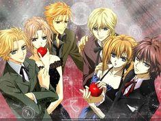 Night Class students of Vampire Knight.