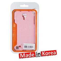 Reiko Crayon Jelly Case For Samsung Galaxy S4 Pink Made In Korea