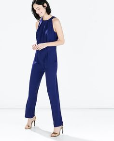 Image 1 of BACKLESS JUMPSUIT from Zara