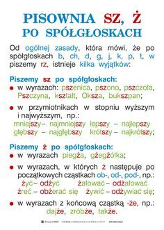 Wersus - pomoce dydaktyczne - Język polski, część 1 - Ortografia i części mowy Learn Polish, Teacher Morale, Polish Language, School Subjects, Teaching Activities, Science For Kids, Teaching English, Funny Texts, Good To Know