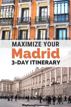 Get the most out of your time in Madrid Spain with this city guide itinerary. These cool things to do in Madrid includes rooftop bars hot spots for tapas offbeat museums and modern art. babies flight hotel restaurant destinations ideas tips Spain Travel Guide, Europe Travel Tips, Travel Guides, Travel Destinations, Holiday Destinations, Italy Travel, Menorca, European Destination, European Travel