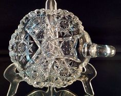 American Brilliant Cut Glass Petite Handled Nappy Nice Pattern by VioletAndValley on Etsy https://www.etsy.com/listing/194174941/american-brilliant-cut-glass-petite