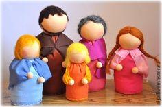 Куклы для кукольных спектаклей.