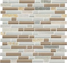 Daltile Phase Mosaics Stone And Glass Wall Tile 5 8 For