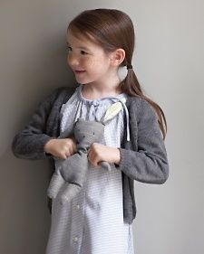 With this sweet adaptation of the classic button-down, a little girl can channel the guy she adores -- Dad. The dress, which fits most children ages 4 to 8, has a drawstring neckline and sleeves.