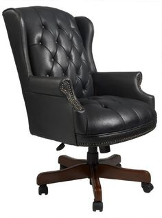 Boss Wingback Traditional Chair, Black Boss Office Products http://www.amazon.com/dp/B002FL3M1Q/ref=cm_sw_r_pi_dp_-Lxhvb0Q2D9V6; $276 Amz Prime