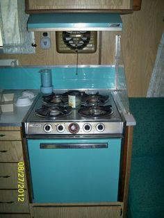 18' Camper in RVs & Campers | eBay Motors  I <3 these appliances!!!!
