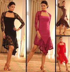 Vestido de baile: tango, quizá LatinDanceFashions.com:
