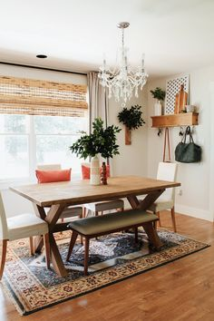 Advice, techniques, as well as guide with respect to obtaining the most ideal end result and also coming up with the optimum perusal of Minimalist Home Decor Dining Room Design, Dining Room Table, Dining Rooms, Interior Design Living Room, Living Room Decor, Updated Kitchen, Kitchen Updates, Table Furniture, Furniture Projects