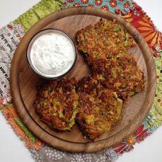 Gemüsepuffer gehen hier immer, und ein ähnliches Rezept findet sich auch bereits auf dem Blog. Allerdings habe ich bei dieser Variante auf ...
