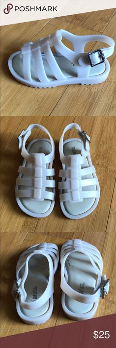 ca821b3218c Mini Melissa Flox BB Slingback Sandal Off White 6