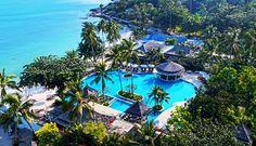 Melati Beach Resort & Spa - Best Luxury Beachfront Hotel for Romance in Koh Samui, Thailand hotel Address: Moo Thongson Bay, Bophut, Koh Samui. Beach Resorts, Hotels And Resorts, Luxury Hotels, Golf Thailand, Outdoor Bathtub, Ko Samui, Spa Offers, Luxury Accommodation, Beautiful Space
