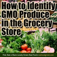 Heres some tips to help avoid GMOs and pesticide laden food when youre at the grocery store.
