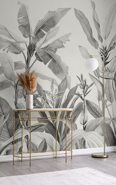 Explore our exciting collection of new and on trend wallpapers and get inspired by this unique range of designs, inspired by the latest trends. Get creative and revitalise your space today with our fresh arrivals. Tropical Wallpaper, Botanical Wallpaper, Beach Wallpaper, New Wallpaper, Childrens Shop, Color Feel, Bespoke Design, Leaf Design, Designer Wallpaper