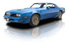 1978 Pontiac Trans Am Martinique Blue 400 cid Pontiac V8