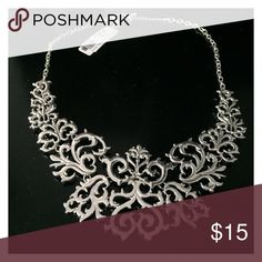 Necklace Stand out with this silver statement necklace! Jewelry Necklaces