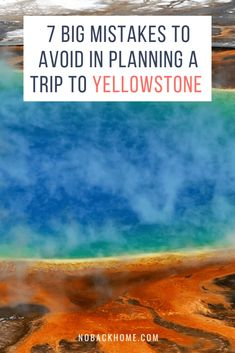 If you are planning a trip to Yellowstone National Park you are going to want to avoid these huge mistakes. Here is what you should NOT do when visiting Yellowstone. Bonus - guide on where to stay. babies flight hotel restaurant destinations ideas tips Visit Yellowstone, Yellowstone Vacation, Yellowstone National Park, Grand Teton National, Usa Travel Guide, Travel Usa, Travel Tips, Travel Destinations, National Parks Usa