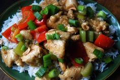 Kung Pao Chicken Low Sodium! Used low-sodium soy sauce instead of faux-sauce used in this recipe. Turned out very good!