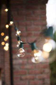 create an amazing glow in your backyard this summer with these outdoor patio string lights with