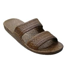 Find Jandals in all colors at Shop The Docks. The Pali Hawaii classic slide sandal known as Jandals or Jesus sandals are a soft rubber flip flop. Pali Sandals, Pali Hawaii Sandals, Salt Life Shirts, Jesus Sandals, Brown Sandals, Walking Shoes, Shoe Brands, Slide Sandals, Footwear