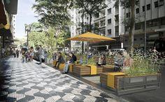 Parklets Municipais Com o objetivo de promover a ampliação da oferta de espaços públicos de convivência na cidade, a Prefeitura de São Paulo regulamentou, em abril de 2014, a implantação de parklet…